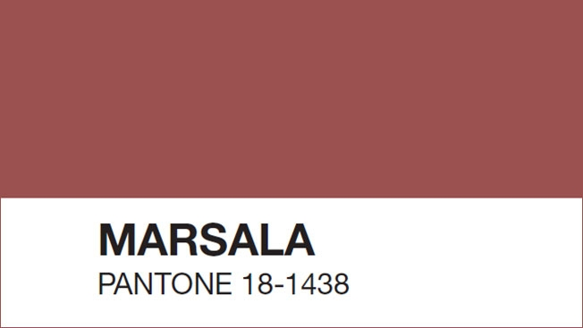 Little Red Riding Vogue: Marsala chosen as Pantone's Color of the Year