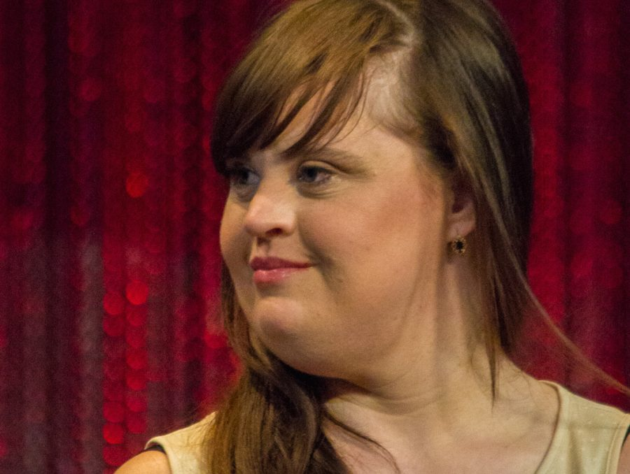 Actress and activist Jamie Brewer makes history as the first model with Down syndrome to walk during NYFW