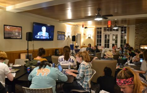 Chatham Students Gather to Watch Final Presidential Debate