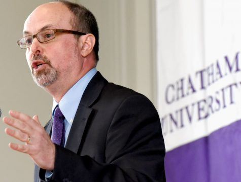 FEATURES: President Finegold On Being New At Chatham and his Views for the Future