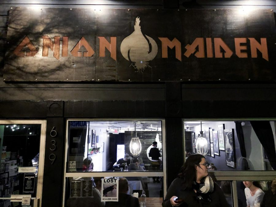 Vegan Crawl: Onion Maiden's punk-rock themed restaurant serves chilli dogs, nachos