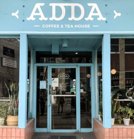 Vegan Crawl: Adda Coffee & Tea House has great vegan cream cheese and kombucha