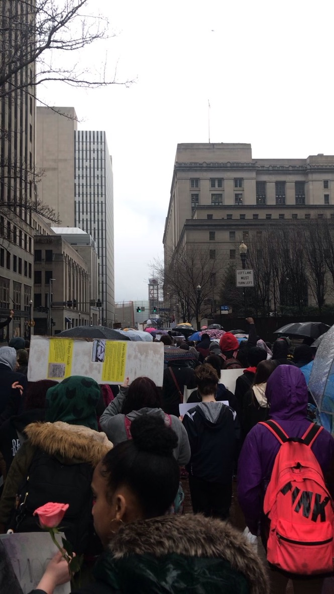 Students at a previous Pittsburgh Black Lives Matter protest