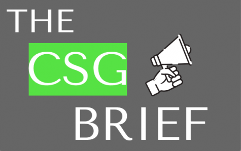CSG Brief: Senate moves forward, starting with diversity presentation