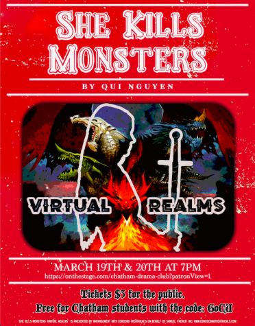 Tickets available for Drama Club's upcoming 'She Kills Monsters' performance