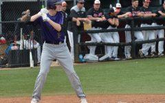 Ryan Shawley '21 plays baseball for Chatham University against conference opponent Washington and Jefferson. Photo Credit: Ryan Shawley