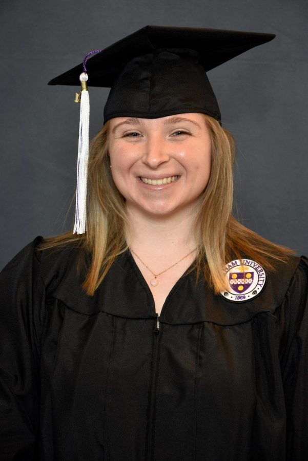Courtney Hayes, BS Environmental Science. Picture Credit: Courtney Hayes and GradImages.