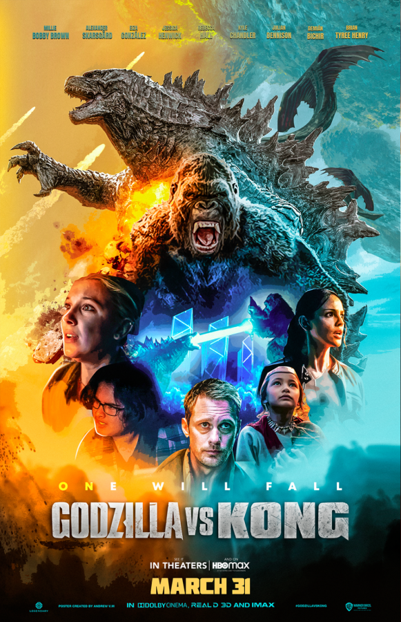"Poster for ""Godzilla vs Kong"" (2021). Photo Credit: IMDB"
