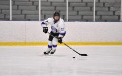 Ashley Merchant plays hockey for Chatham University. Photo Credit: Chatham Athletics