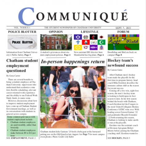 Check out Volume 78 Issue 1!