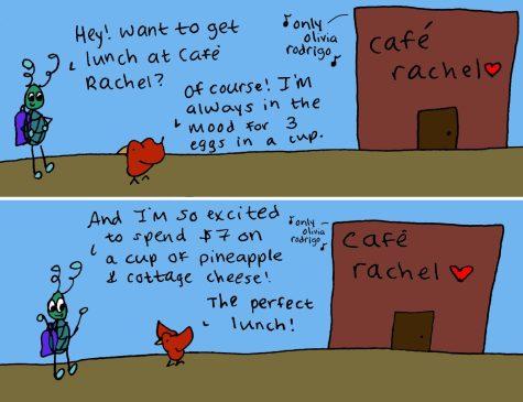 Out of Left Field: Café Rachel regulars